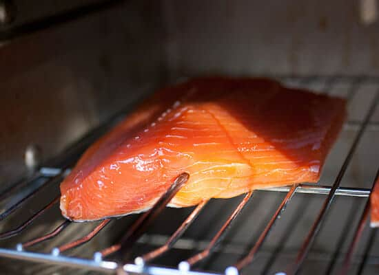 Hot Smoked Salmon Recipe probe