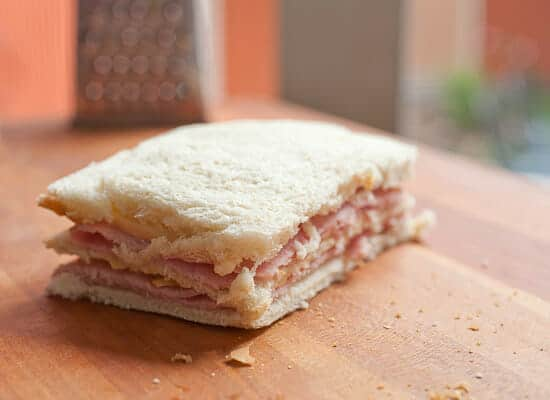 Classic Monte Cristo Sandwich crust off