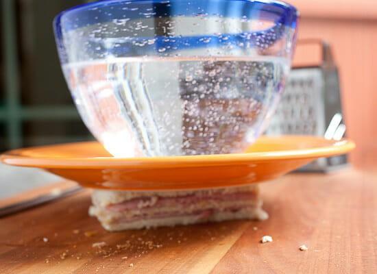 Classic Monte Cristo Sandwich pressing