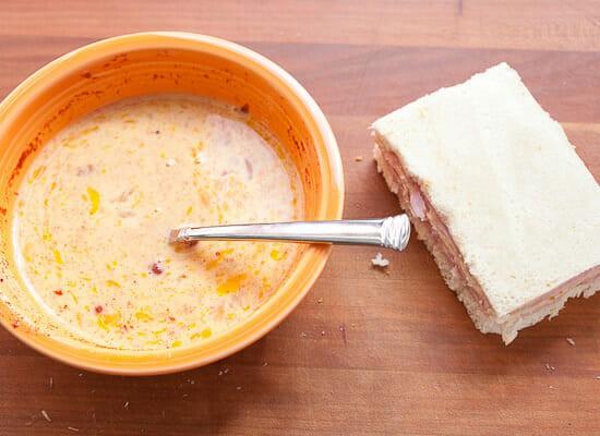 Classic Monte Cristo Sandwich eggs