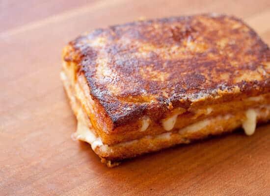 Classic Monte Cristo Sandwich cooked