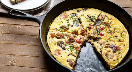 Cast Iron Skillet Recipes - Frittata