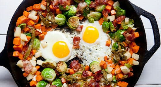 Cast Iron Skillet Recipes - Hash
