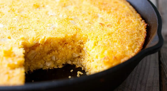 Cast Iron Skillet Recipe - Corn bread