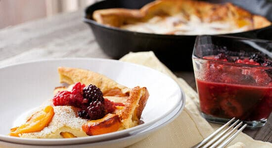 Cast Iron Skillet Recipes - Dutch Baby