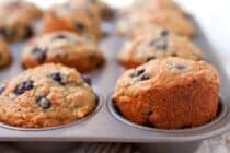 Oatmeal and Blueberry Muffins for Babies