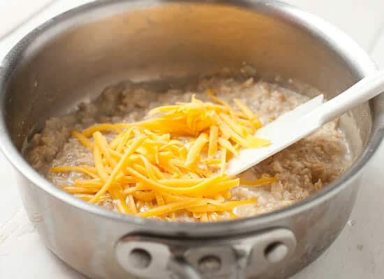 Cheesy Oatmeal