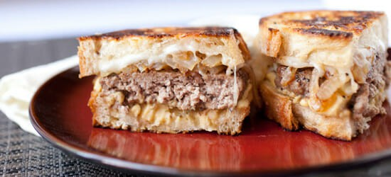 Hummus Patty Melt