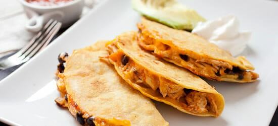 Shredded Chicken Hard Tacos