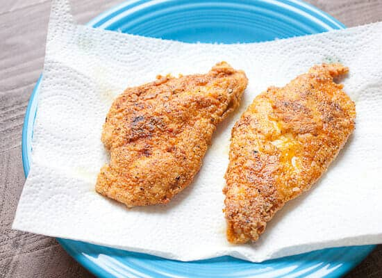 Chicken cooked - Fast Crispy Chicken with Pasta