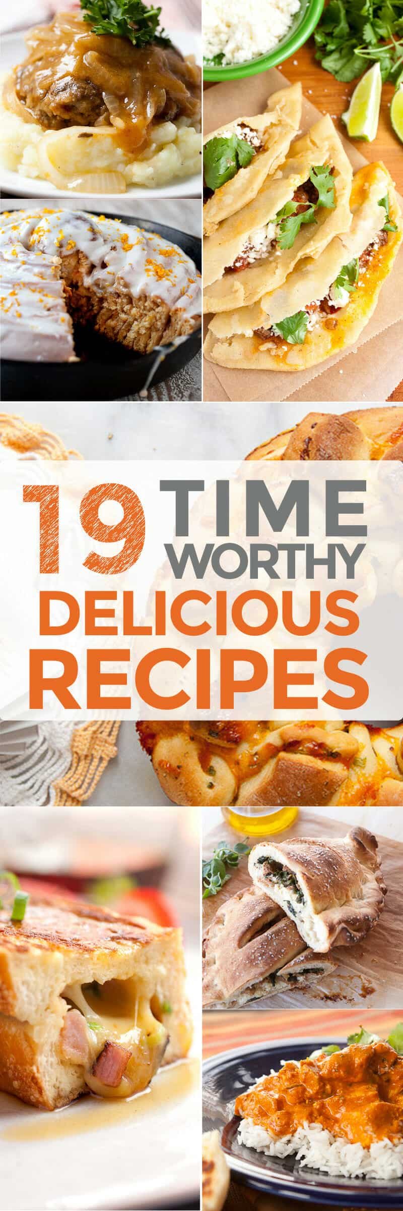 19 Time-Worthy Delicious Recipes: It's great to have quick recipes for weeknight dinners, but it's also nice to have some sure-fire delicious recipes when you have some extra time to make something really special. Here are 19 of my favorite recipes when you have extra time to enjoy cooking! | macheesmo.com
