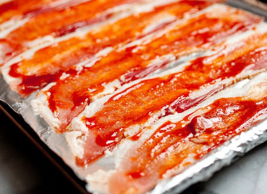 Sriracha Candied Bacon