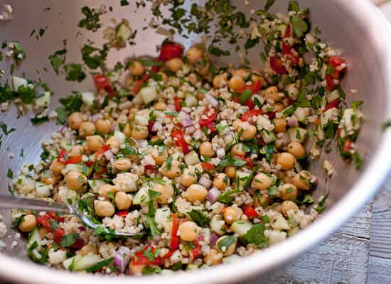 Easy Falafel Salad