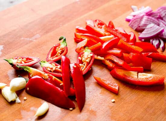 Carne Asada Hash veggies