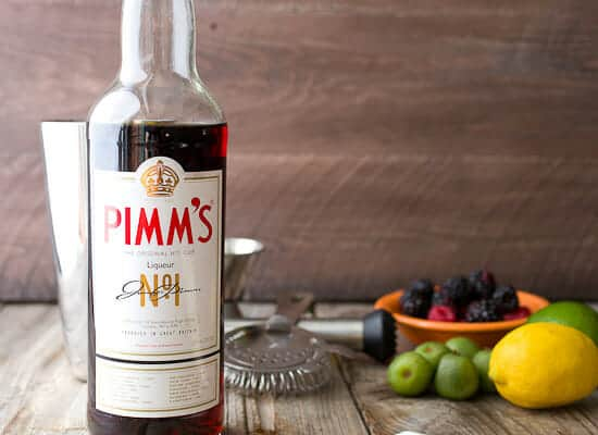 Bottle of Pimm's #1