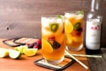 Cucumber Ginger Pimm's Cup: This is my official drink of summer. Light, fruity, refreshing, and just a few ingredients. Make a few of these and life is good! | macheesmo.com