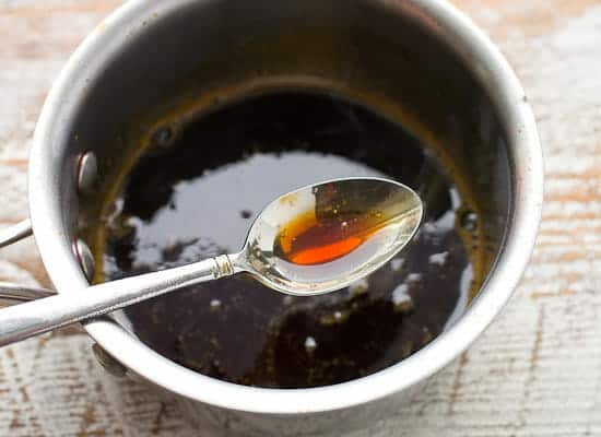 Spicy Maple Citrus Chicken Kabobs marinade