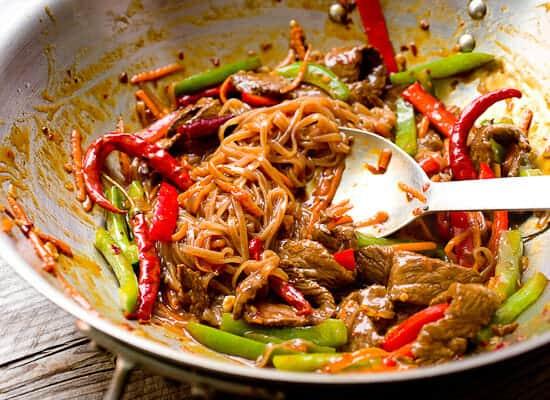 Szechuan Beef Noodles