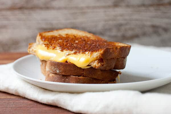 American Cheese Grilled Cheese