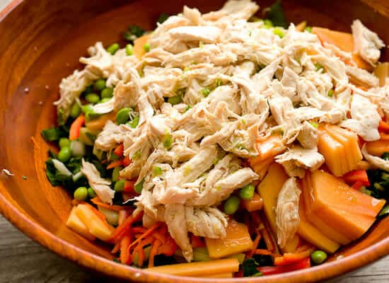 Easy Thai Chicken Salad