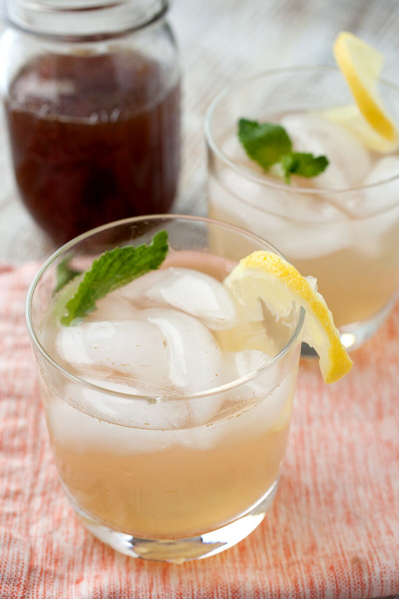 Lavender Lemonade Concentrate: A tangy and just-sweet-enough concentrate that's great for a glass of lemonade or adult beverage. You can can the concentrate, but I always drink it too fast for it to be a concern! From the cookbook Naturally Sweet Food in jars! | macheesmo.com
