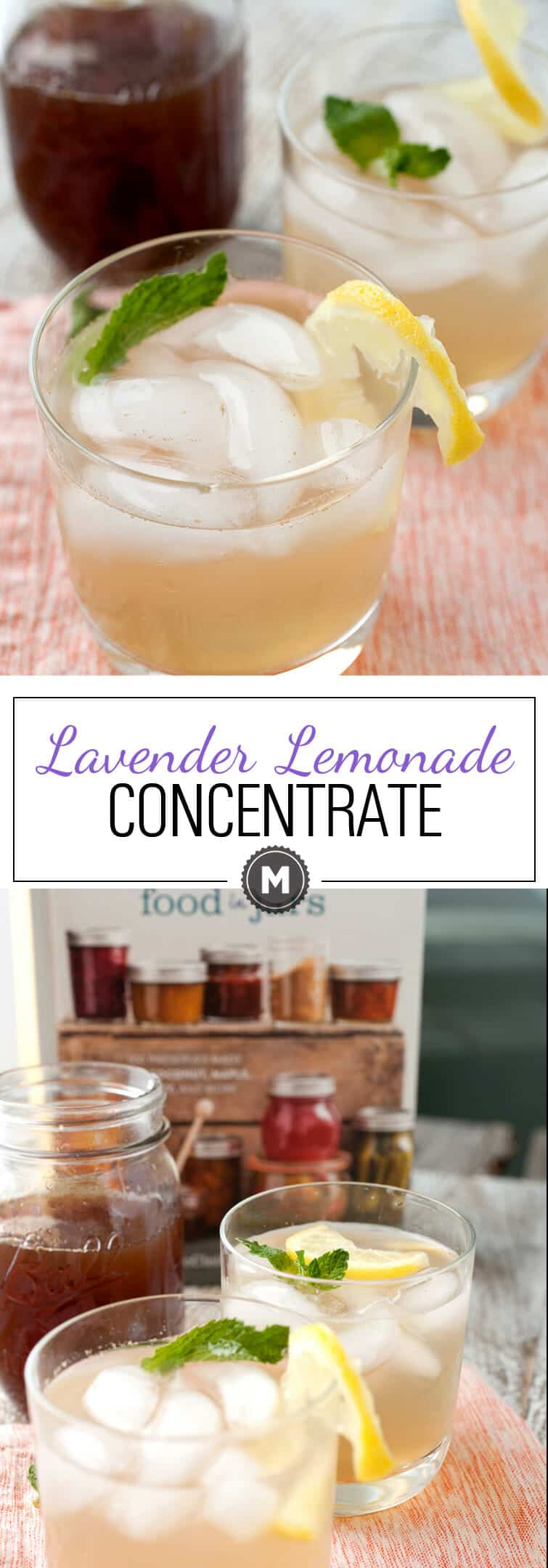 Lavender Lemonade Concentrate: A tangy and just-sweet-enough concentrate that's great for a glass of lemonade or adult beverage. You can can the concentrate, but I always drink it too fast for it to be a concern! From the cookbook Naturally Sweet Food in jars!   macheesmo.com