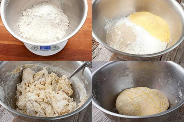 Cast Iron Deep Dish Pizza dough