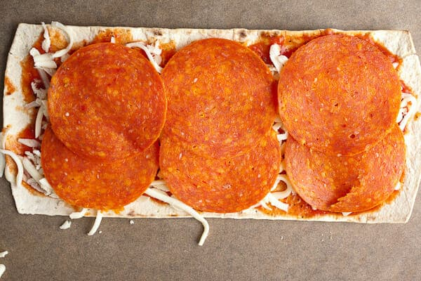 Pepperoni Pizza Stack