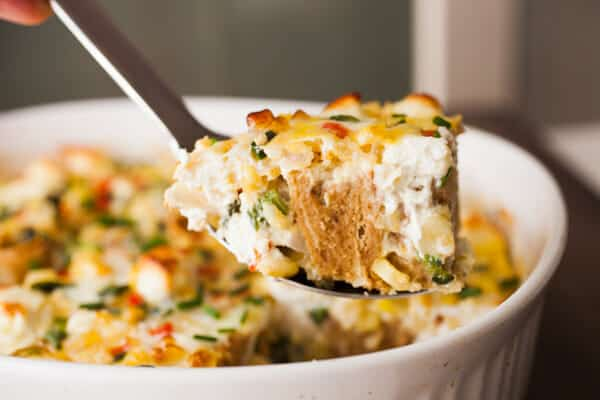 Rolled Flatbread Savory Pudding