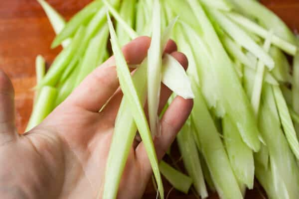 Hot Flash Celery Salad