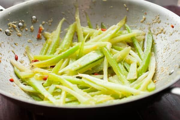 Hot Flash Celery Salad