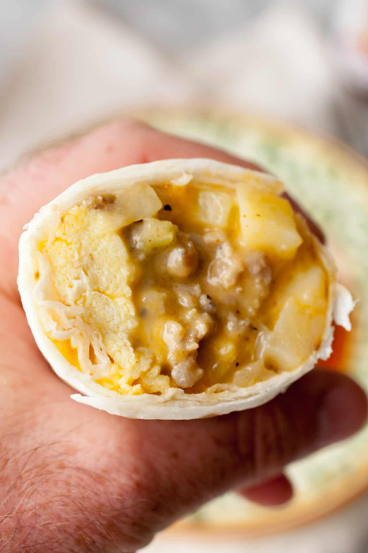 Make Ahead Freezer Breakfast Burritos