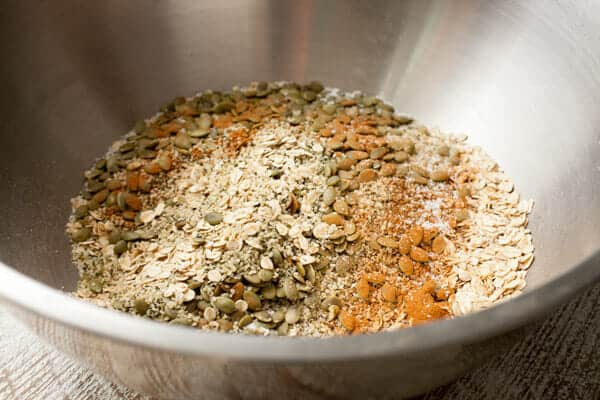 Hemp Seed Pumpkin Granola