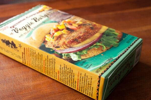 Kiddo Quinoa Veggie Burgers