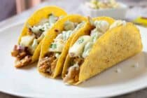 Spicy Chicken Pineapple Tacos: These easy weeknight chicken tacos are jam-packed with flavor and topped with a quick and zesty spicy pineapple salsa. Say goodbye to boring tacos! | macheesmo.com