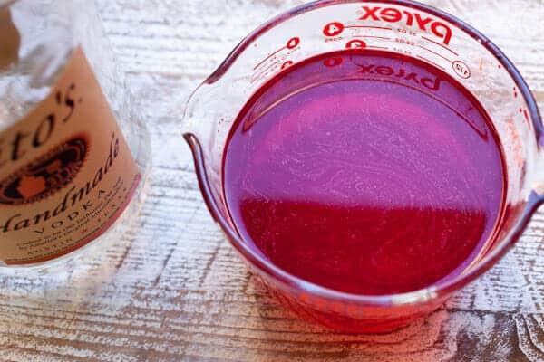 Meringue Jelly Shots