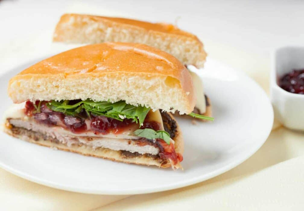 Pork Schnitzel Sandwiches: Delicious fried pork cutlets served on soft buns with traditional German toppings. One of my favorite sandwiches! | macheesmo.com