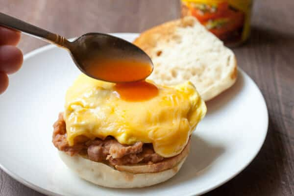 Enchilada Breakfast Sandwiches