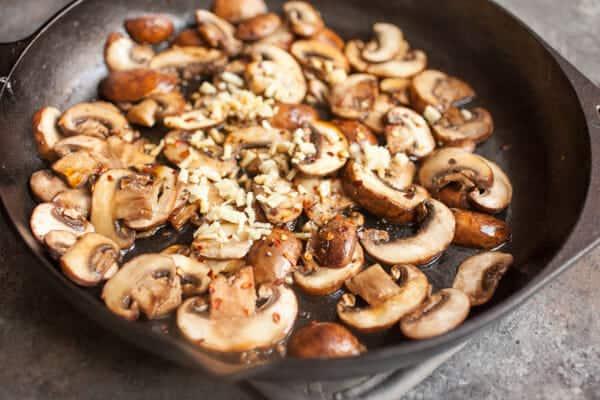 Savory Ginger Mushroom Oatmeal