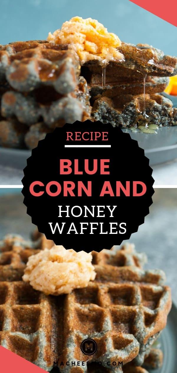 Blue Corn and Honey Waffles
