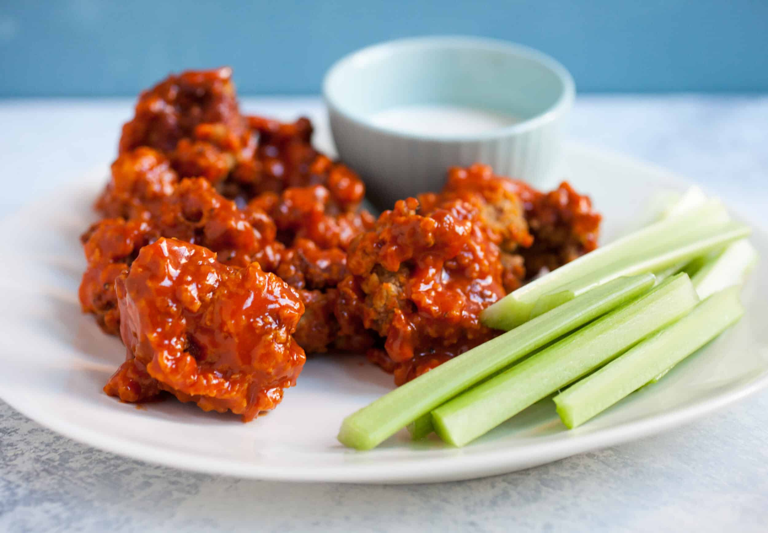 Real Boneless Chicken Wings: Ditch the boneless skinless chicken breasts and learn how to make real boneless wings, which yes, involves some work. The results are incredible though! | macheesmo.com