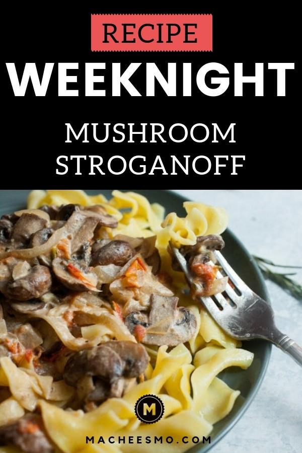 Weeknight Mushroom Stroganoff