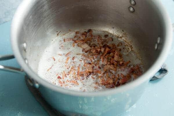 30 minute salmon chowder