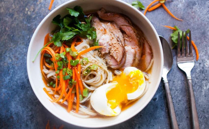 Weeknight Pork Ramen Recipe