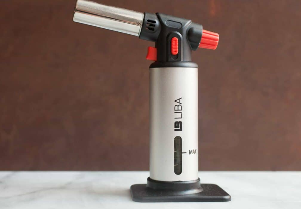 Uses for a Culinary Torch that Aren't Creme Brulee: Many people might think the culinary torch is a single use kitchen item, but wrong! It has OH so many uses. They are relatively cheap and incredibly useful!   macheesmo.com