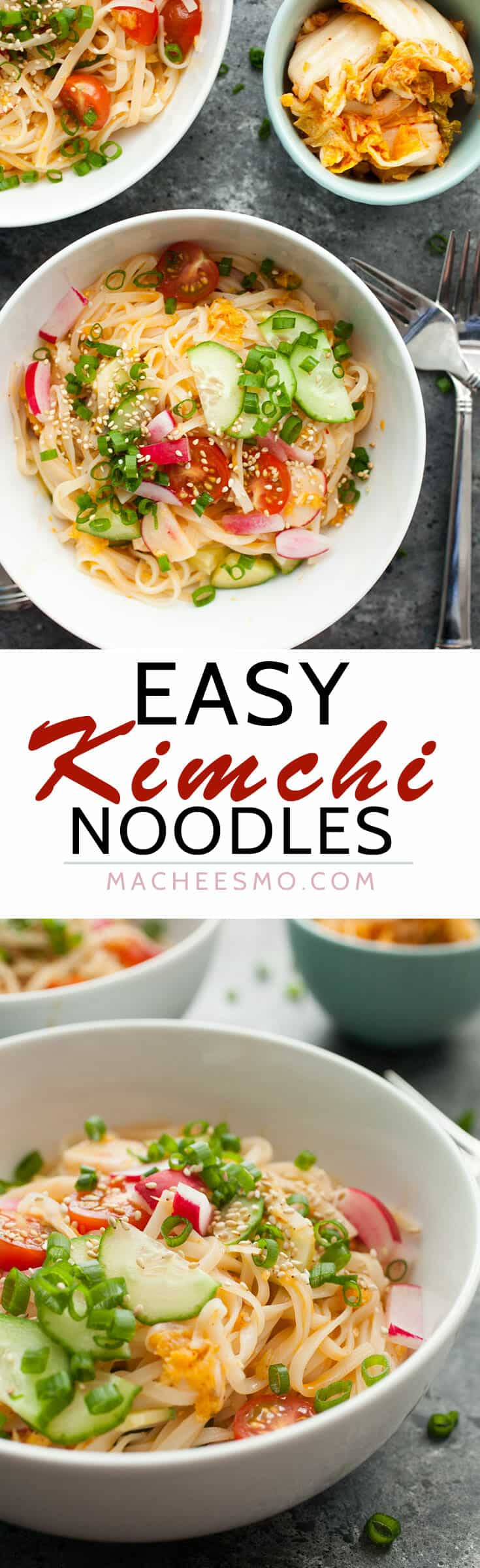 Kimchi Noodle Bowls