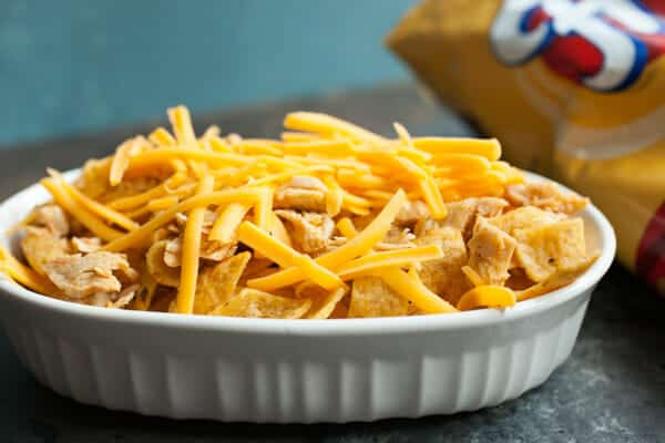 Pulled Chicken Frito Pie