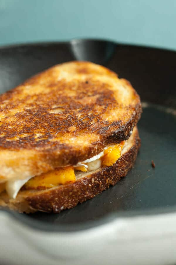 Chili Mango Brie Grilled Cheese