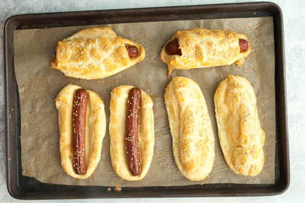Eclair Hot Dogs