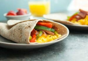 Mile High Breakfast Wrap: Some of my favorite flavors in the classic